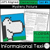 FSA Informational Text Mystery Picture Set 4 Grades 3-5
