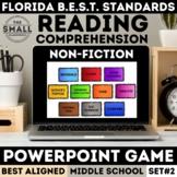 FSA Informational Text PowerPoint Game