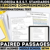 FSA Informational Text Practice Test Set 4 (Florida Standards Assessment)