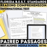 FSA Informational Text Practice Test Set 6 (Florida Standards Assessment)
