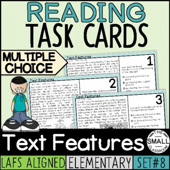 FSA Informational Text Task Cards Grade 3-5