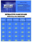 FSA Jeopardy Review Game (ELA)