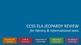 FSA Jeopardy FSA Review 2017