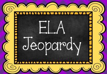 FSA Jeopardy for ELA skills