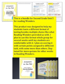 FSA Jumpstart Bundle - Second - Wonders - Unit 5
