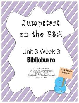 FSA Jumpstart- Second Grade - Reading Wonders - Unit 3 Week 3 - Biblioburro