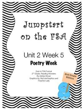 FSA Jumpstart- Second - Wonders - Unit 2 - Week5, Poetry Week