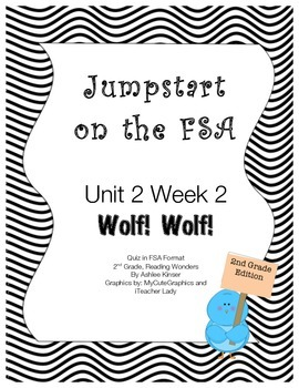 FSA Jumpstart- Second - Wonders - Unit 2 - Wolf! Wolf!