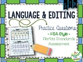 FSA Language and Editing Tasks {Florida Standards Assessment} - Set 1