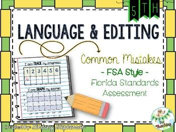 FSA Language and Editing Tasks {Florida Standards Assessment} - Set 3