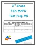 FSA MAFS 3rd Grade Test Prep 5- Common Core Aligned