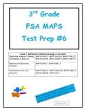 FSA MAFS 3rd Grade Test Prep 6- Common Core Aligned