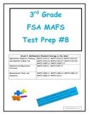 FSA MAFS 3rd Grade Test Prep 8-Common Core Aligned