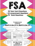 FSA MAFS.4.OA.2.4 & MAFS.4.OA.3.5 Task Cards & Assessments