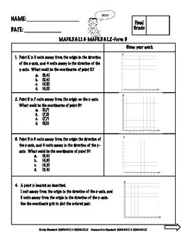 FSA Math Assessment Geometry Bundle {Form B}