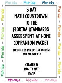 FSA Math At Home Practice Packet