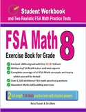 FSA Math Exercise Book for Grade 8: Student Workbook
