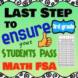 FSA Math Gridded Response Practice, 3rd Grade Math FSA Prep