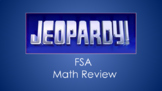 FSA Math Jeopardy Review Game