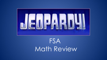 FSA Math Jeopardy Review Game