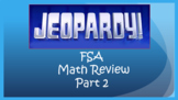 FSA Math Jeopardy Review Game Part 2