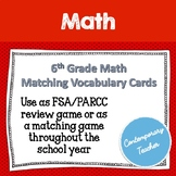 FSA Math Matching Review Game