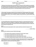 FSA Math Mini-Assessment - MAFS.4.OA.1.3