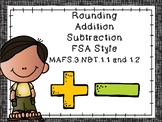 FSA Math Practice MAFS.3.NBT.1.1 and 1.2
