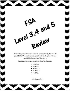 FSA Number and Operations Review