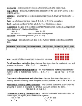 FSA Math Study Guide (Print with .5 margins)
