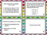 FSA Math Task Cards