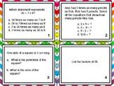 FSA Math Task Cards