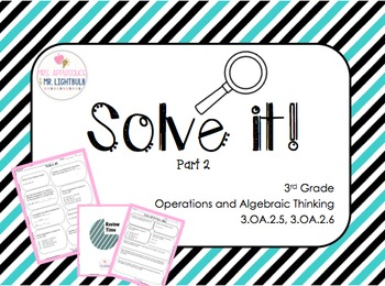 FSA Math Test Word Problems 40 FSA and Common Core  (OA.2) 3rd Grade,Part 2