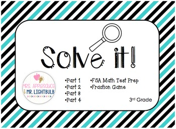 FSA Math Test Word Problems BUNDLE