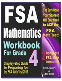 FSA Mathematics Workbook For Grade 4: Step-By-Step Guide