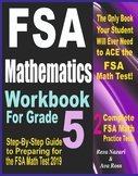 FSA Mathematics Workbook For Grade 5: Step-By-Step Guide