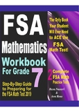 FSA Mathematics Workbook For Grade 7: Step-By-Step Guide