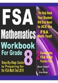 FSA Mathematics Workbook For Grade 8: Step-By-Step Guide