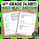 Number and Operations in Base Ten FSA Math Test Prep
