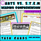 FSA ELA Multi-Select and Multiple Choice Passages and Task Card Set