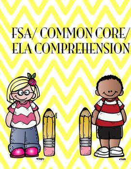 FSA Nonfiction Comprehension articles (Common Core) Assessments