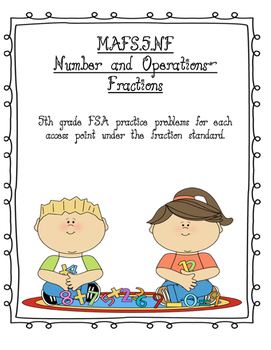 FSA Numbers & Operations-Fractions Sample Problems