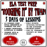 Common Core Reading Test Prep Lessons Pk. 1 Roughing It FS