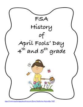FSA PREP - FSA Reading - 5th and 4th grade - April Fools' Day