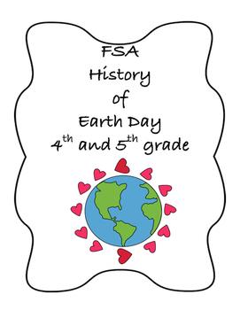 FSA PREP - FSA Reading - 5th and 4th grade - History of Earth Day