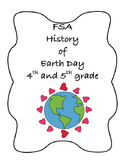 FSA PREP - FSA Reading - 5th and 4th grade - History of Earth Day