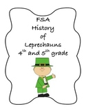 FSA PREP - FSA Reading - 5th and 4th grade - St. Patrick's Day Leprechauns