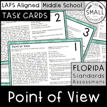 FSA Point of View Task Cards (Florida Standards Assessment)