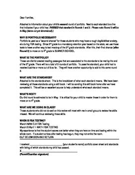 FSA Portfolio Letter Round 2