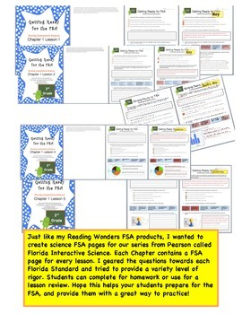FSA Prep - Florida Science Interactive - Pearson - Third Grade - Chapter 1